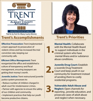 Trent's Accomplishments