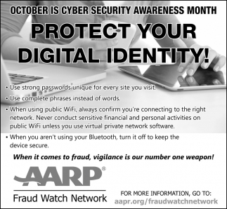Protect Digital Identity