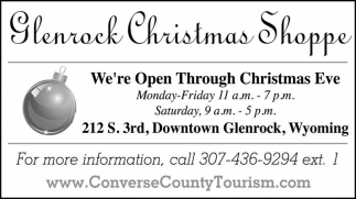 Glenrock Christmas Shoppe