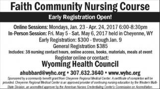 Faith Community Nursing Course