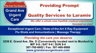 Providing Prompt + Quality Service to Laramie