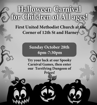 Halloween Carnival for Children of All Ages