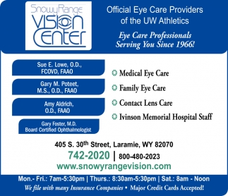 Medical Eye Care