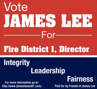 Vote James Lee