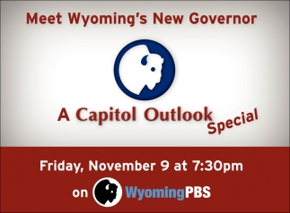 Meet Wyoming's New Governor