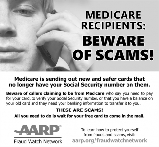 Beware of Scams!