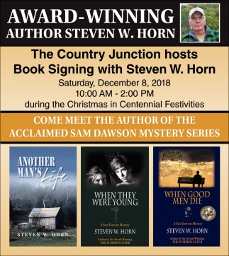 Book Singing with Steven W. Horn