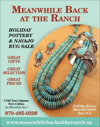 Holiday Pottery & Navajo Rug Sale