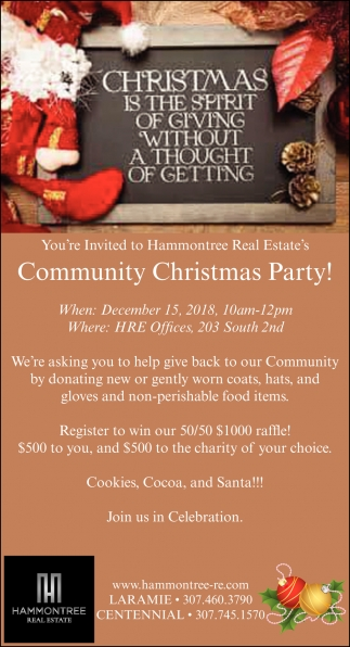 Community Christmas Party!