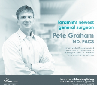 Laramie's Newest General Surgeon