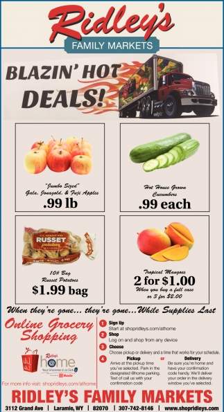 Blazin' Hot Deals