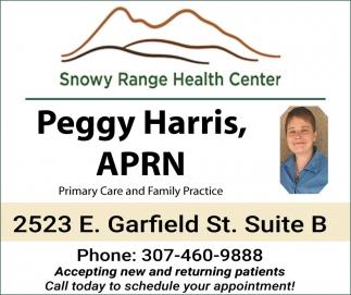 Peggy Harris, APRN