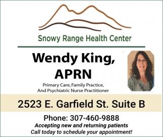 Wendy King, APRN