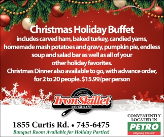 Christmas Holiday Buffet