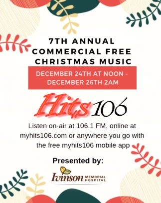 7th Annual Commercial Free Christmas Music