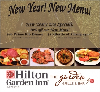 New Year! New Menu!