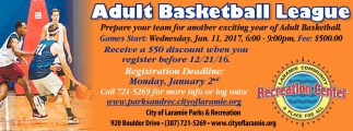 Adult Basketball League!