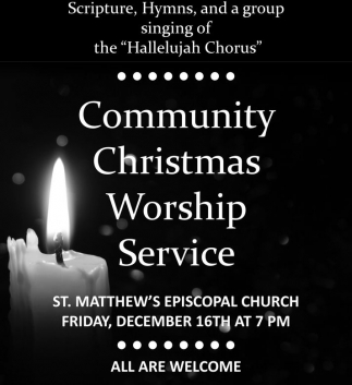 Community Christmas Worship
