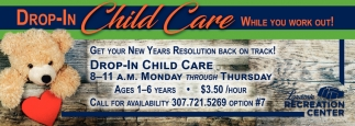 Drop-In Child Care