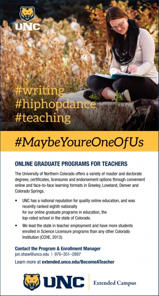 Online Graduate Programs for Teachers