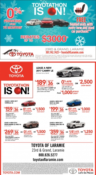 Toyotathon is on!