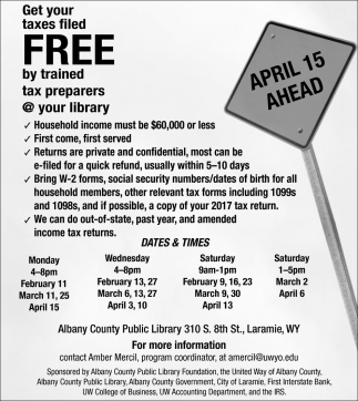 Get Your Taxes Filed Free