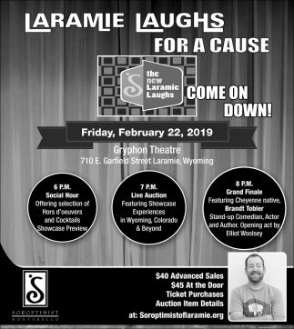 Laramie Laughs For a Cause