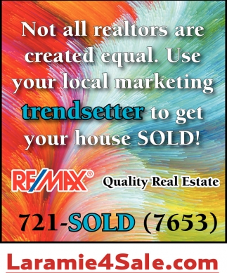 Not all realtors are created equal. Use your local marketing trendsetter to get you house SOLD!
