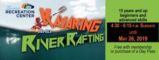 Kayaking and River Rafting