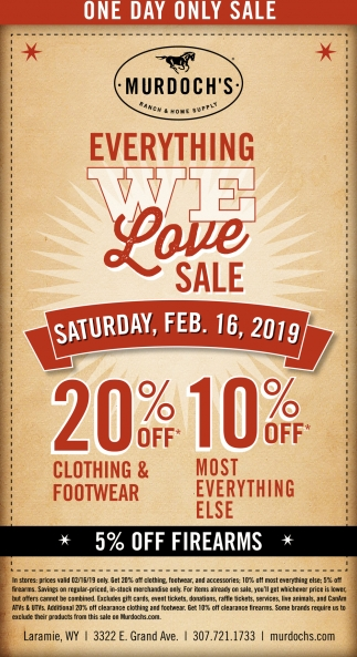 Everything We Love Sale