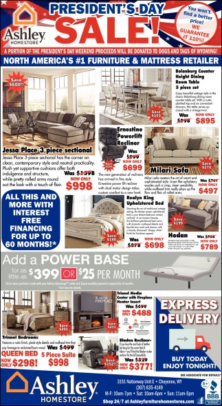 President S Day Sale Ashley Homestore