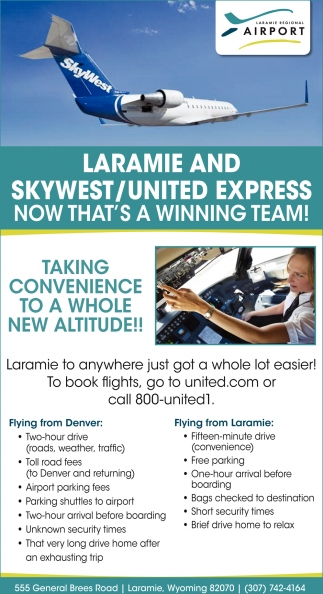 Laramie and Skywest/United Express