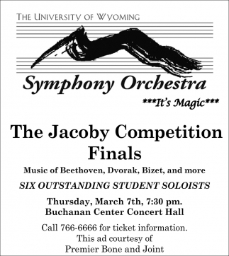 The Jacoby Competition Finals