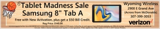 Tablet madness Sale