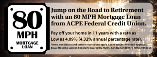 80 MPH Mortgage Loan