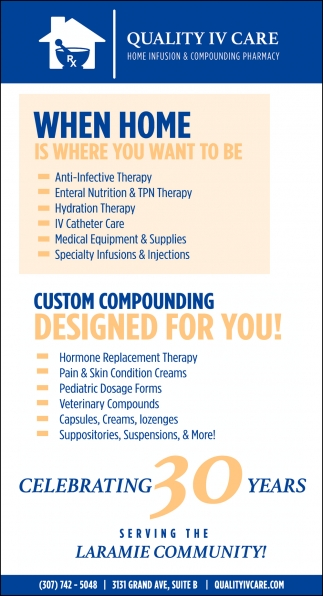Home Infusion & Compounding Pharmacy