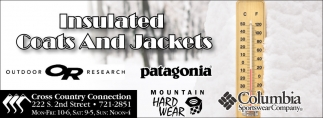 Insulated Coats and Jackets