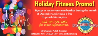 Holiday Fitness Promo!