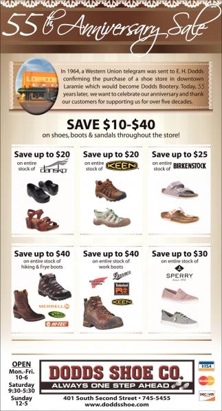 Save $10-$40