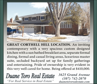 Great Corthell Hill Location
