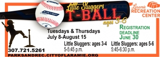 Little Sluggers T-Ball