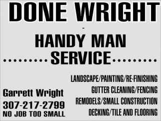 Handy Man Service