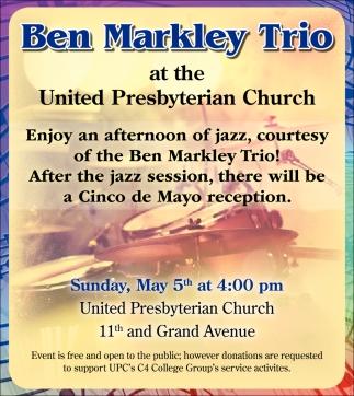 Ben Markley Trio