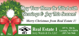 May Your Home Be Filled With Blessings and Joy This Season