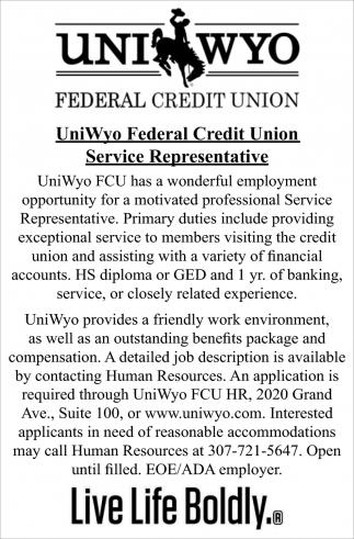 Service Representative