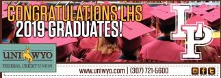 Congratulations LHS 2019 Graduates