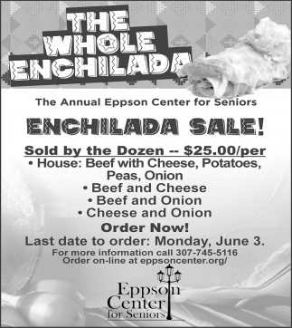 Enchilada Sale