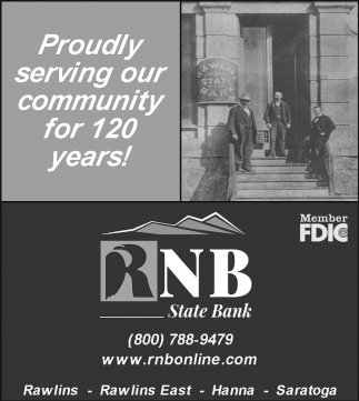 Proudly Serving Our Community for 120 Years!