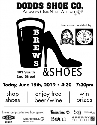 Brews & Shoes