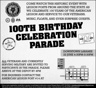 100th Birthday Celebration Parade